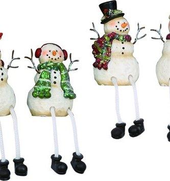 "3.5"" Snowman Shelf Sitter (4-Styles)"
