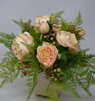 Custom English Rose Arrangement