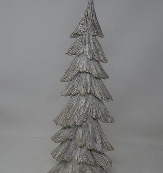Large Gray Weathered Tree