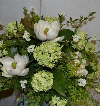 Custom Magnolia in Pedestal Bowl