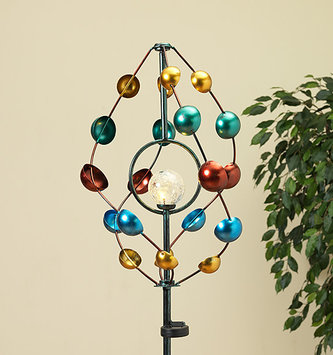 Solar Multicolor Finial Cups Spinner