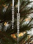 Set of 2 Gem Icicle Ornaments