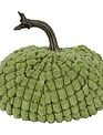Small Chenille Weighted Pumpkin