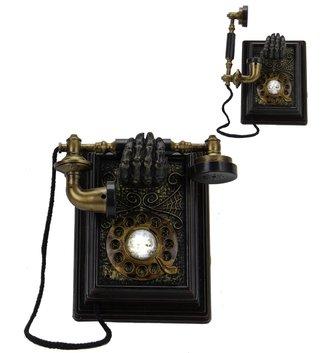 Animated Spooky Telephone Decor