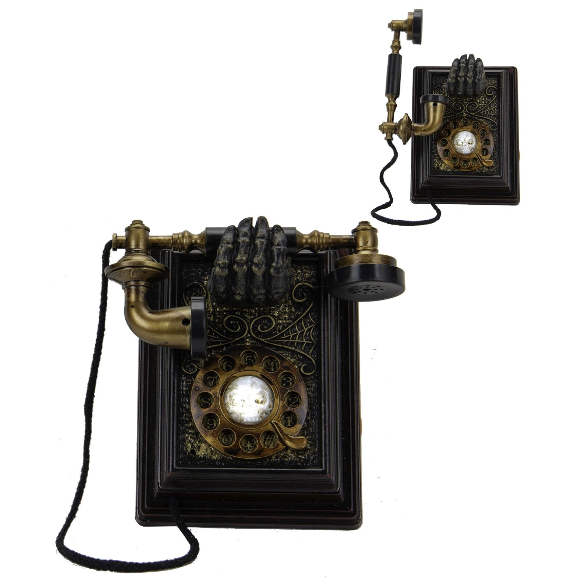 Animated Spooky Telephone Decor