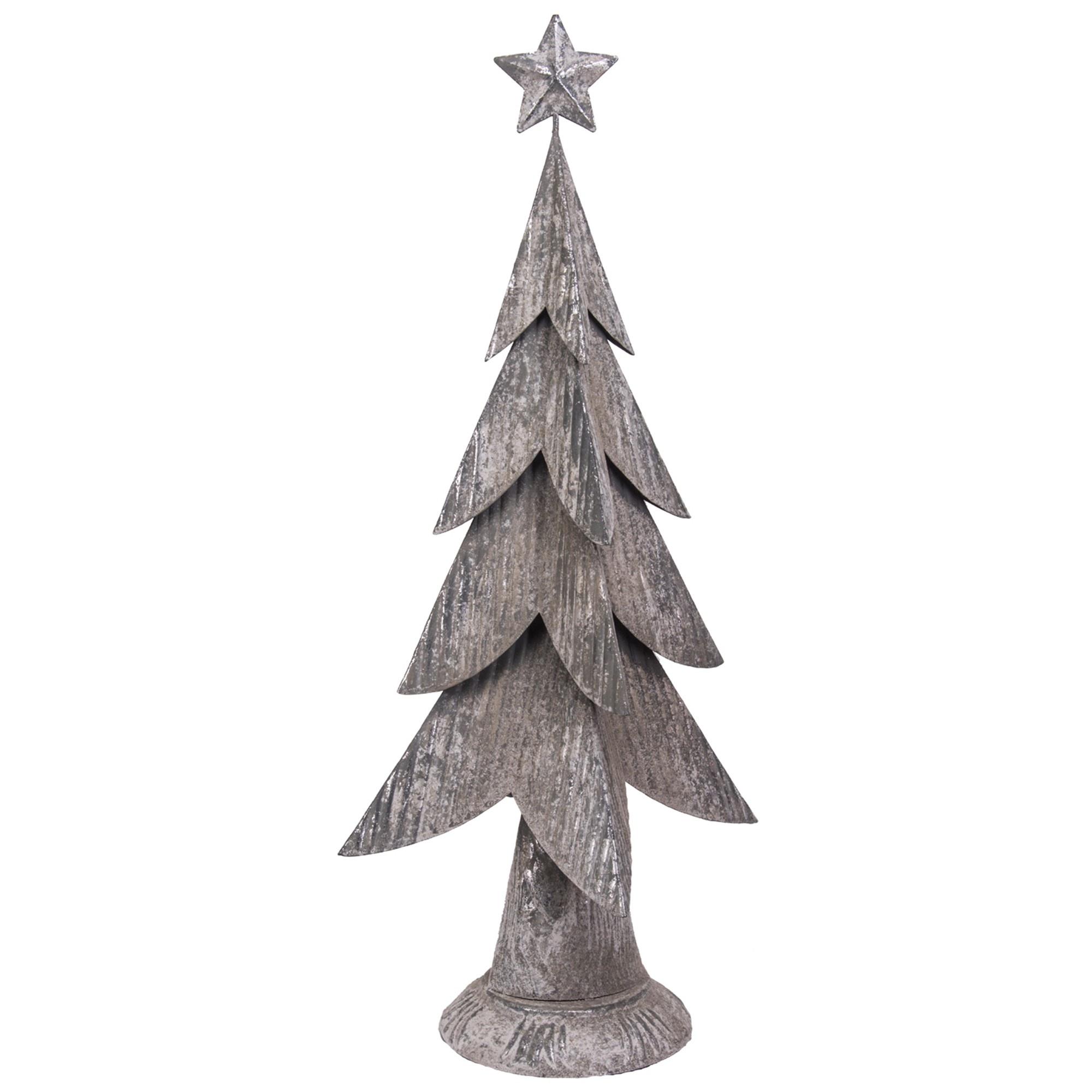 Distressed Metal Christmas Tree