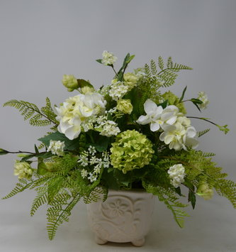 Southern Small Hydrangea Arrangement