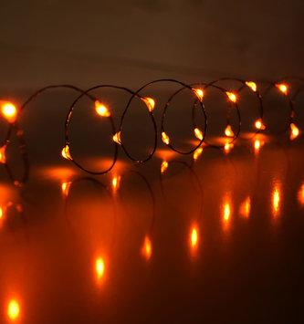 5-Ft. LED Orange String Lights