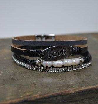 Love Multi Strand Bracelet