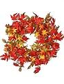 "22"" Harvest Leaf & Berry Wreath"