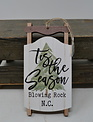 Blowing Rock NC Sleigh Ornament