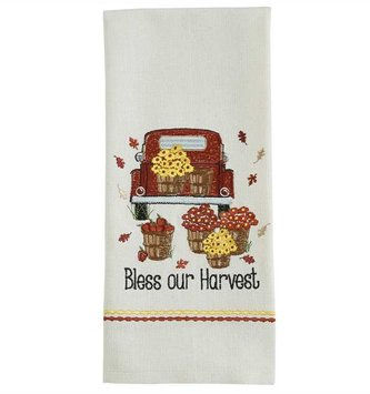 Bless Our Harvest Towel