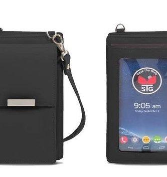 The Weekender Touchscreen Crossbody Black