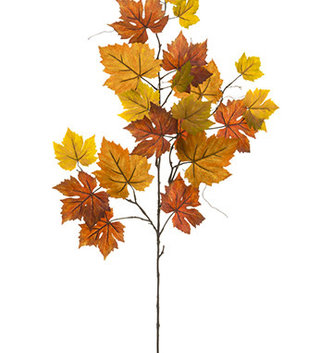 "40"" Autumn Grape Leaf Spray (2 Colors)"