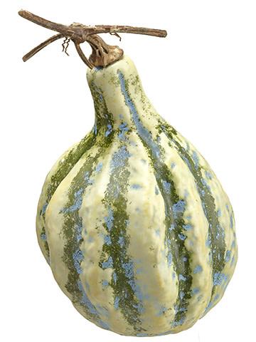"14"" Green Yellow Gourd"