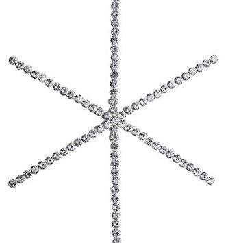"9.25"" Rhinestone Star Ornament"