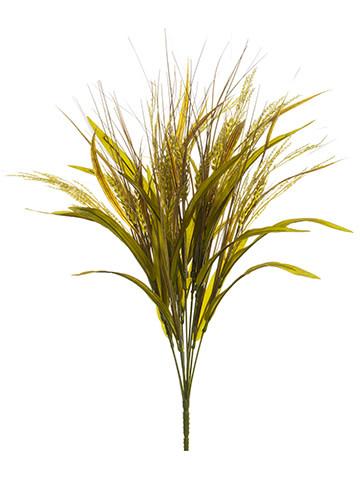 """21"""" Golden Wheat Grass Bush"""