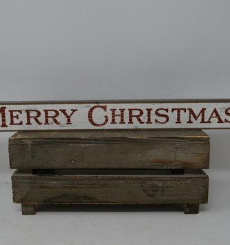 Merry Christmas Skinny Sign