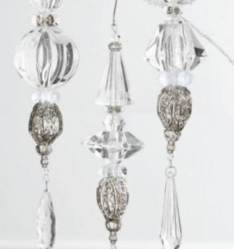 Vintage Prism Icicle Ornament (3 Styles)