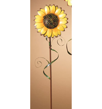 "31"" Metal Sunflower Stake"