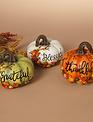 Fall Berry Message Pumpkin