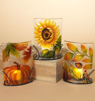 Harvest Tealight Holder (3- Styles)