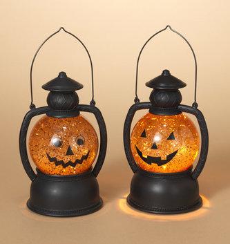 LED Jack-o-Lantern Water Globe (2 Styles)