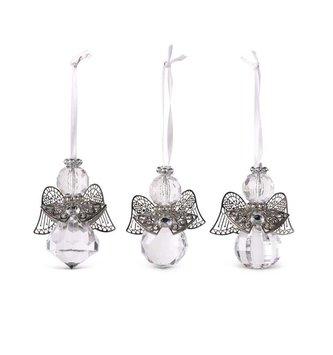 Mini Vintage Prism Angel Ornament (3-Styles)