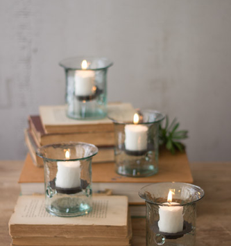 Mini Glass Votive Cylinder