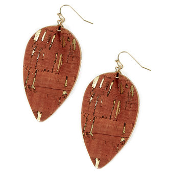 Corkleaf Earrings