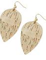 Corkleaf Earrings