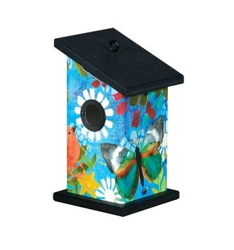 Peaceful Paradise Small Birdhouse