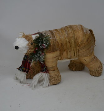 Rustic Holiday Bear