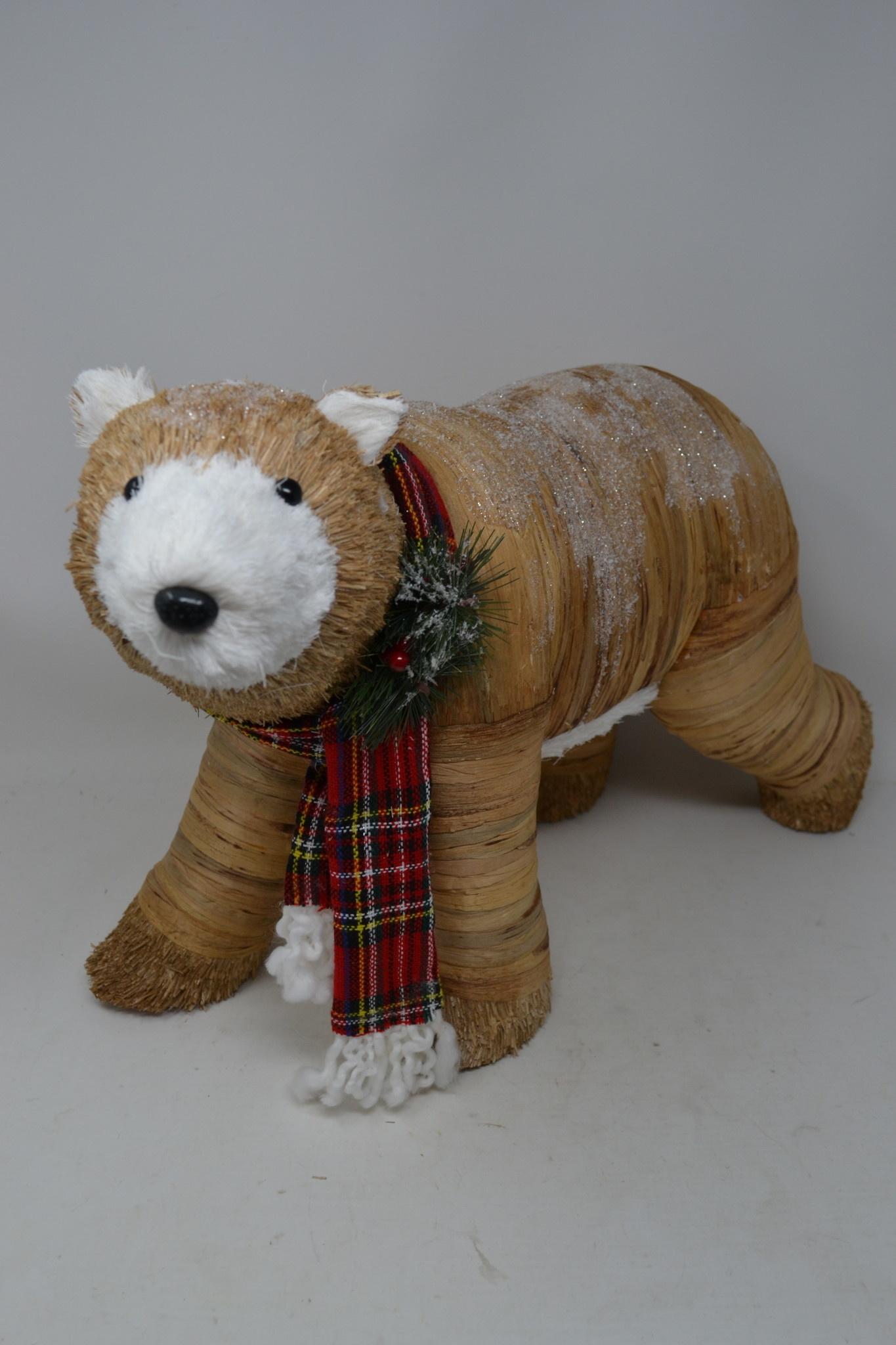 Rustic Holiday Bear