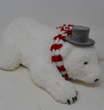 Shimmer Polar Bear Ornament