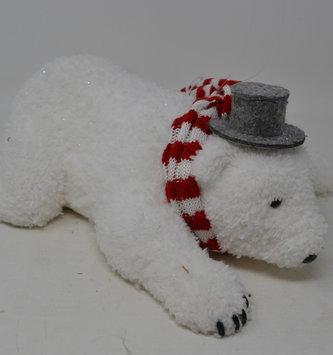 Shimmer Polar Bear Ornament