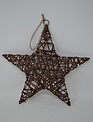 "10"" Shimmer Vine Star Ornament"
