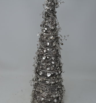 "18"" Silver Vine Twig Tree"