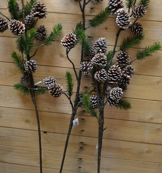 "39"" Balsam Pinecone Branch"