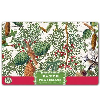 Spruce Paper Placemats