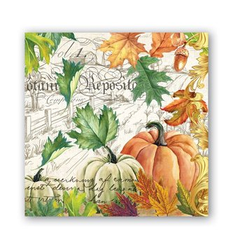 Fall Harvest Cocktail Napkin