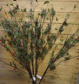 Wispy Cedar Berry Branch