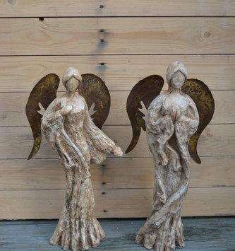 Woodland Rustic Angel (2 Styles)