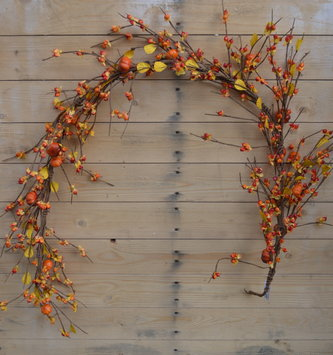 5-Ft Bittersweet Pumpkin Garland