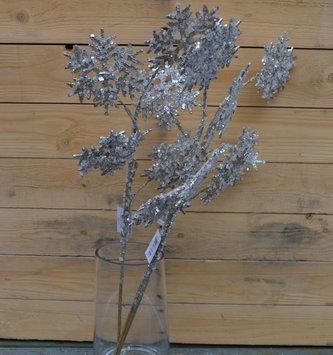 Iced Glitter Snowflake Spray