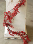 5-Ft. Waterproof Red Berry Garland