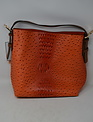 Vegan Leather Boardwalk Bag In A Bag Orange