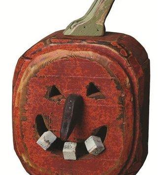 Snaggle Tooth Jack-O-Lantern
