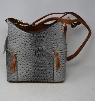 Vegan Leather Sanibel Satchel Bag