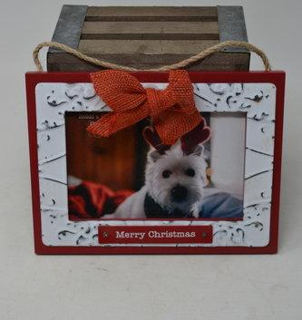 Merry Christmas Frame Ornament